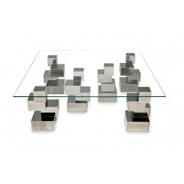 Cubos table - 6 legs