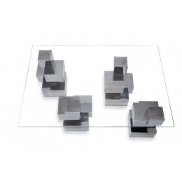 Mesa cubo 4 patas
