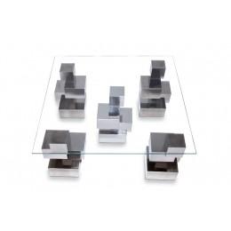 Cubos table - 5 legs